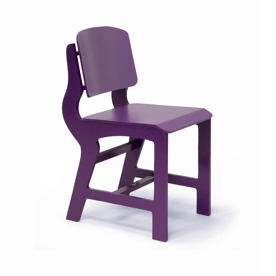 Rode en blauwe stoel sandra catsburg meubels - Stoel rode huis van de wereld ...