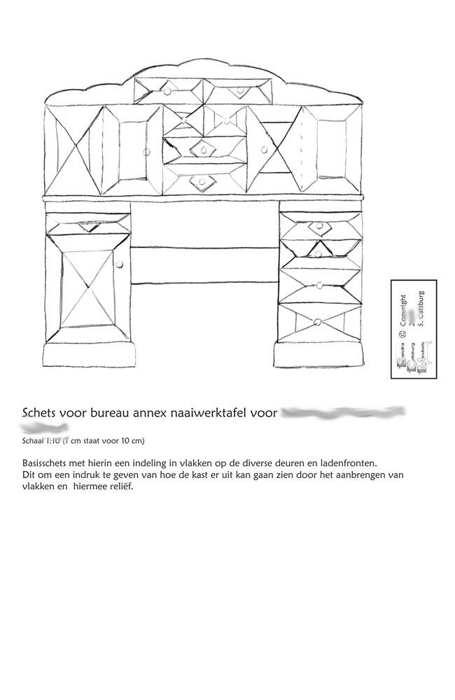Van schets tot bureau met opbouw